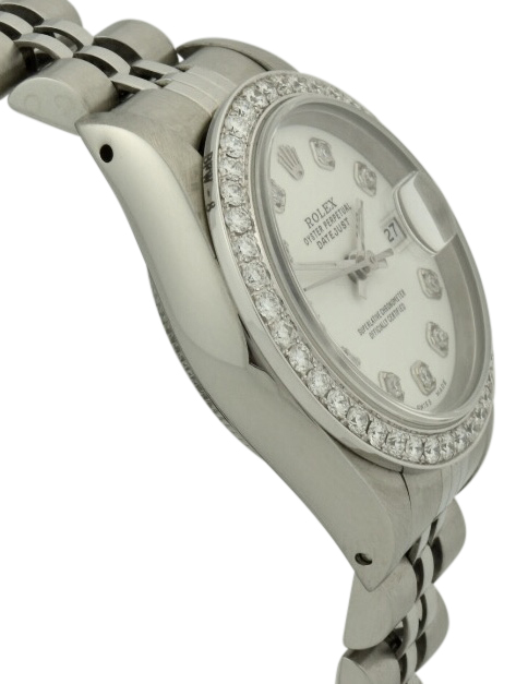 ladies rolex 69174 diamond bezel