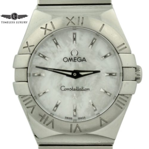 Ladies Omega constellation polished