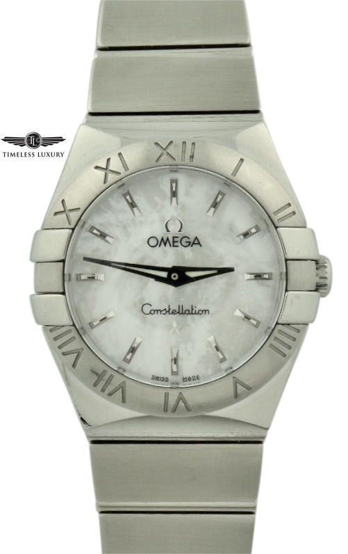 Ladies Omega constellation polished