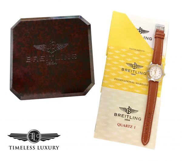 breitling lady wings d67050 for sale