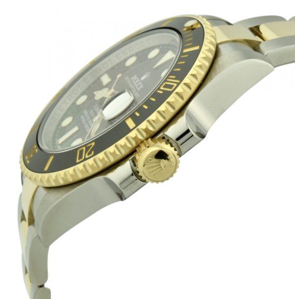 rolex submariner gold crown