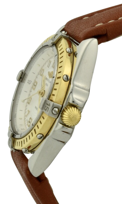 breitling wings gold crown