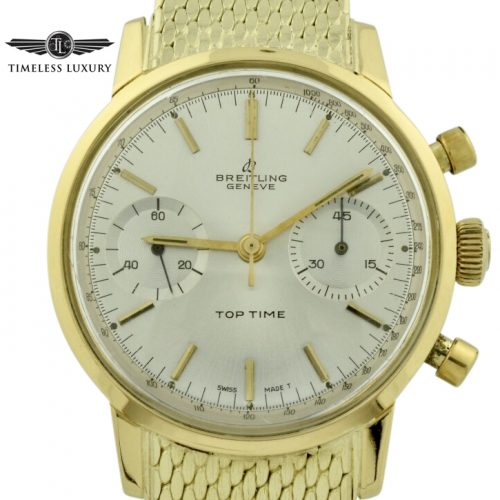Breitling top time 2004 18k gold
