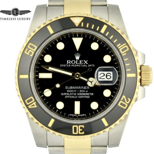 Rolex submariner 116613ln black dial for sale