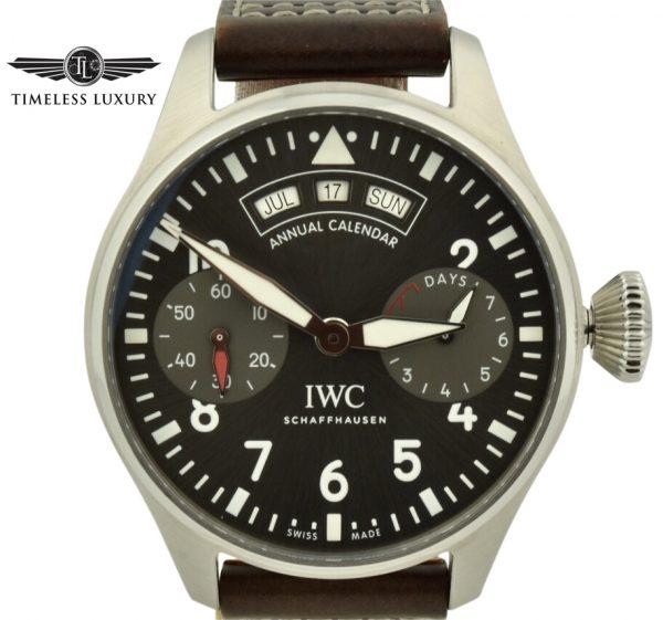 IWC bog pilot annual calendar spitfire IW502702
