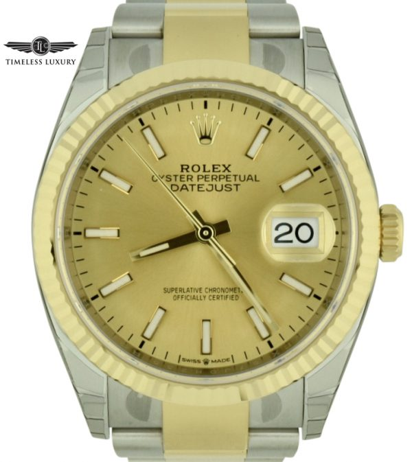 2019 rolex datejust 36 126233 for sale