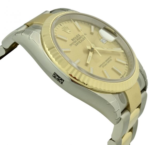 rolex datejust 126233 champagne dial
