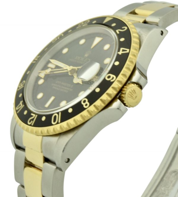 rolex 16713 gold crown