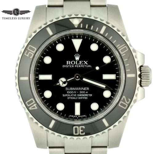 Men's Rolex submariner no date 114060 for sale