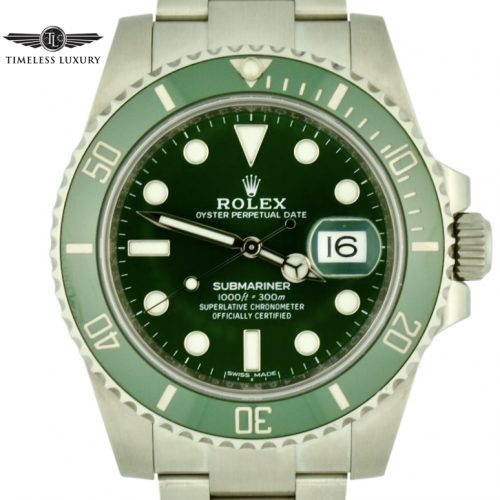 2016 Rolex submariner hulk 116610lv for sale