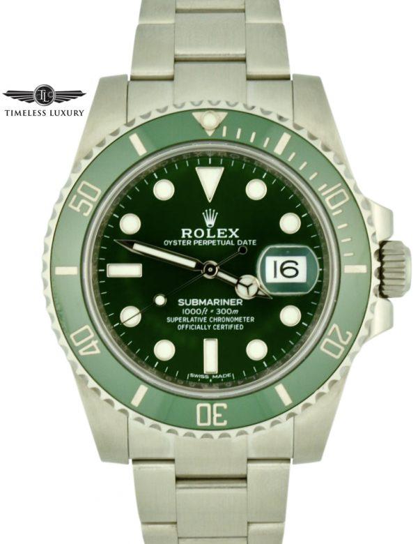 2016 Rolex submariner hulk 116610lv for sale