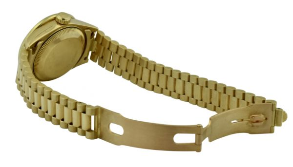 ladies rolex president gold clasp