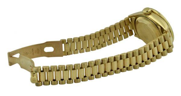 ladies rolex 18k gold band