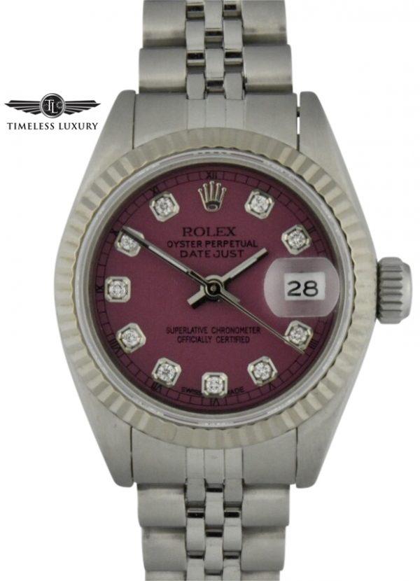 1992 Ladies rolex date 69160