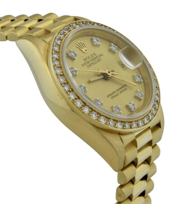 IMG 0479 600x709 - Ladies Rolex President 26mm