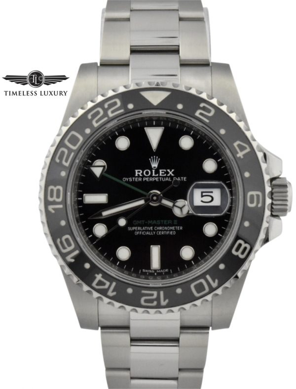 NEW 2019 Rolex gmt master II 116710LN