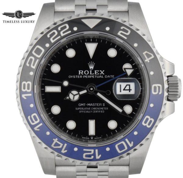 Rolex batgirl gmt master II 126710
