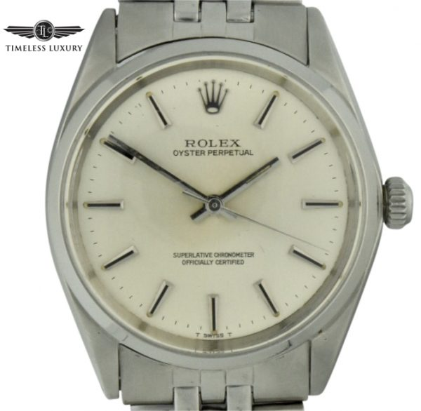vintage 1961 rolex oyster perpetual 1002