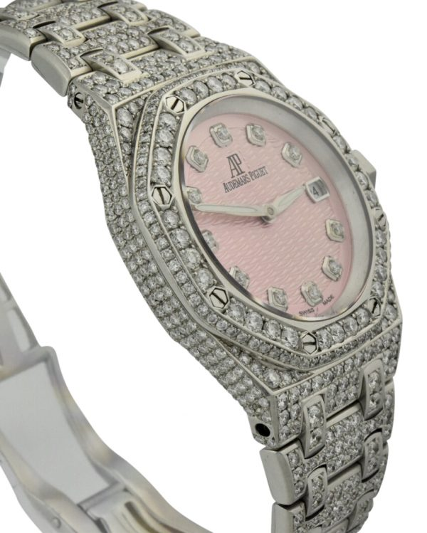 ladies Audemars piglet diamond watch