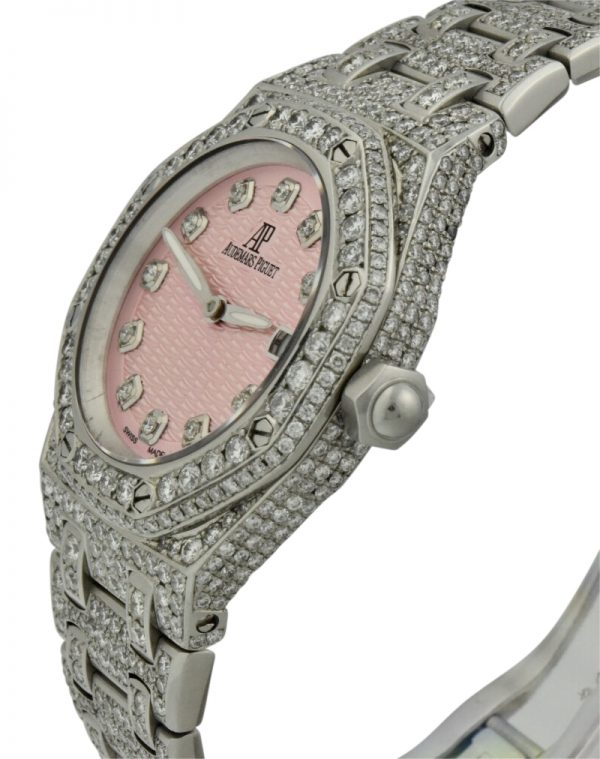 lady royal oak diamond watch