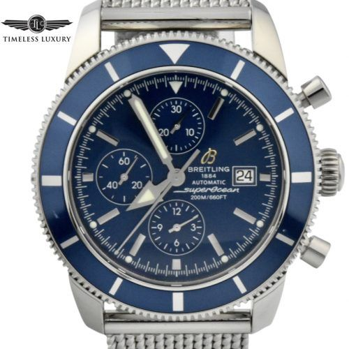 Breitling superocean heritage a13320 blue