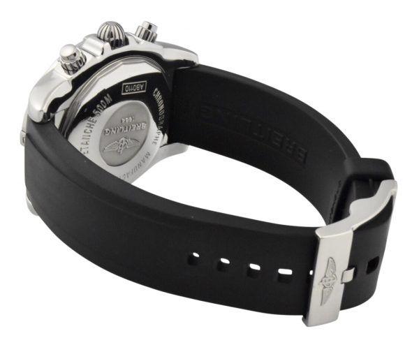 breitling chronomat ab0110 rubber strap