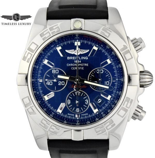 Breitling chronomat 44 blue ab0110