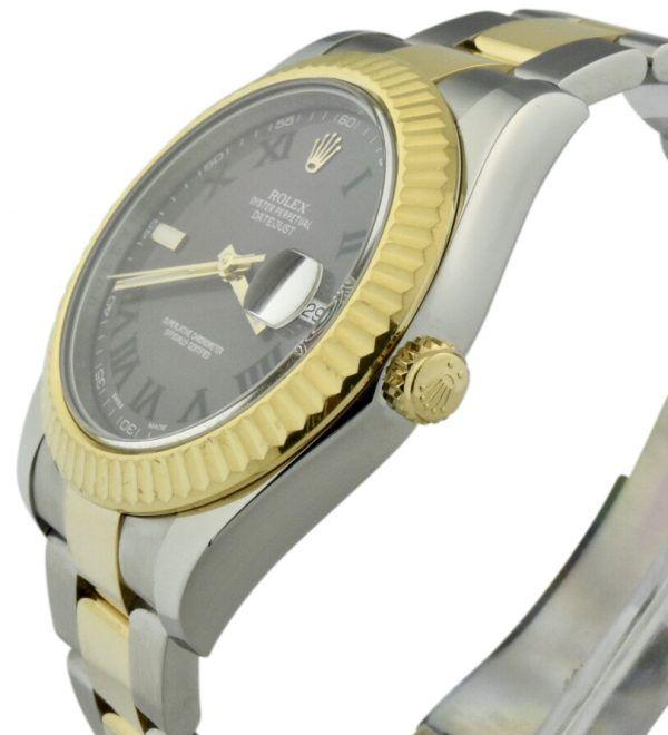 rolex 116333 gold crown