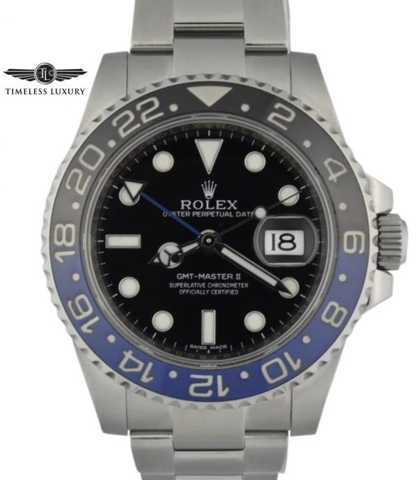 Rolex batman for sale
