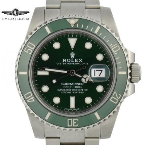 Rolex Submariner Hulk 116610LV For Sale
