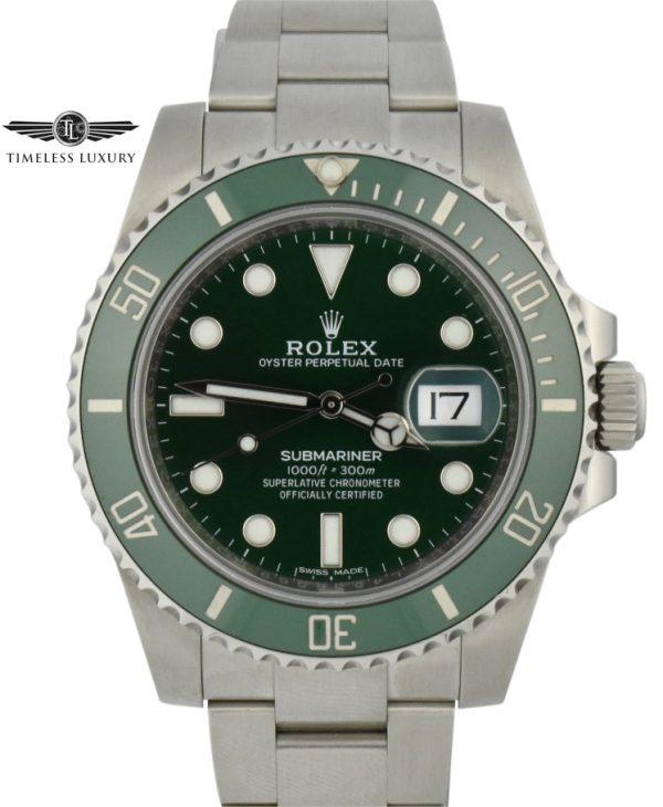 Rolex Submariner Hulk 116610LV For Sale