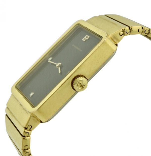 girard perregaux gold plated watch
