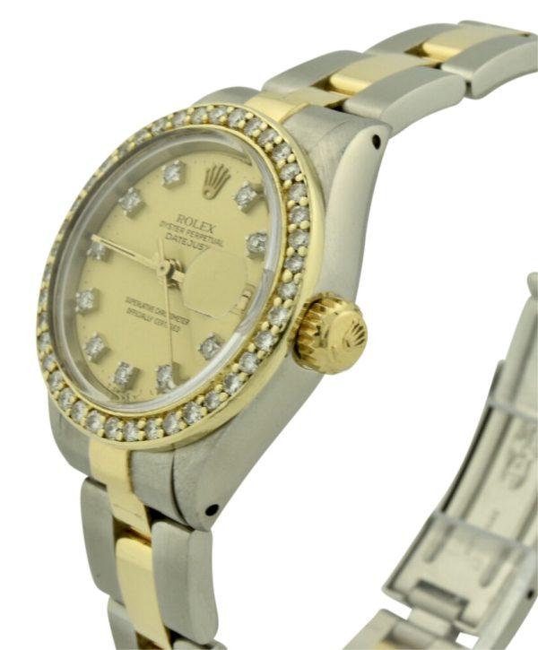 rolex 6917 champagne diamond dial