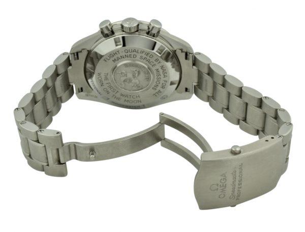 omega speedmaster steel clasp