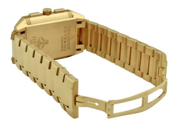 jaeger lecoultre reverso 18k rose gold bracelet