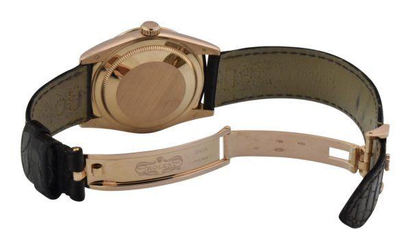 rolex 18k rose gold clasp