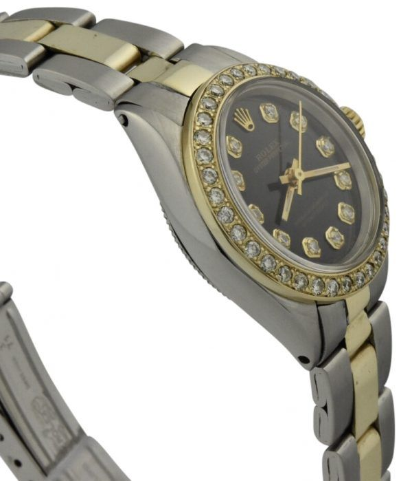 rolex 6804 diamond bezel