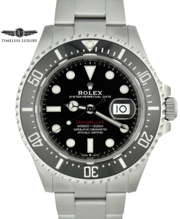 2019 rolex 126600 Sea dweller 50th anniversary
