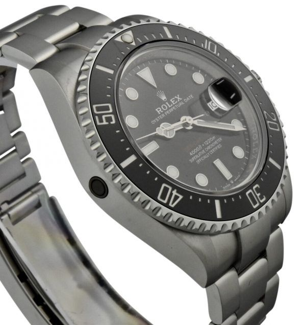 rolex sea dweller 126600 red letter