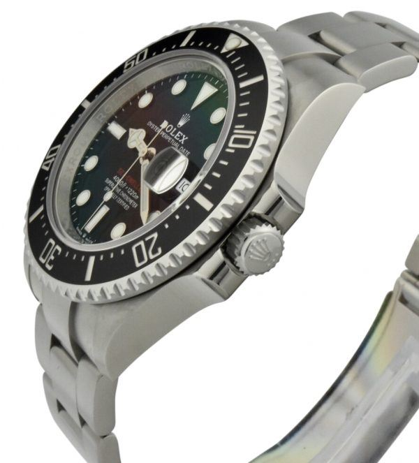 rolex sea dweller 126600 crown