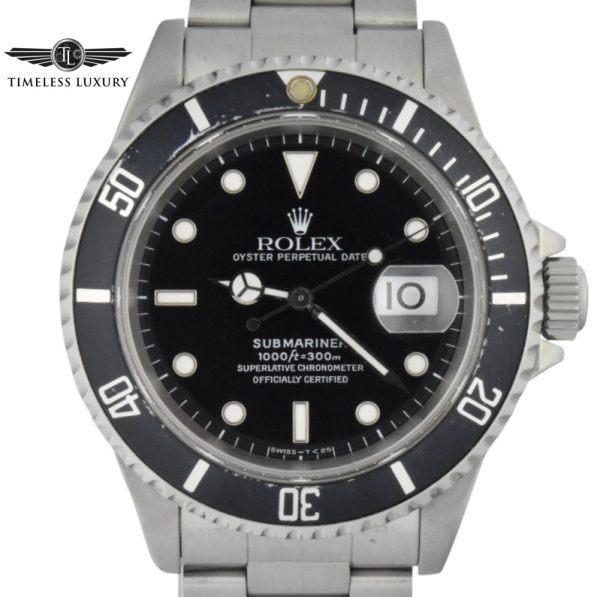 1996 Rolex Submariner 16610