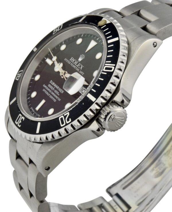 rolex submariner 16610 crown