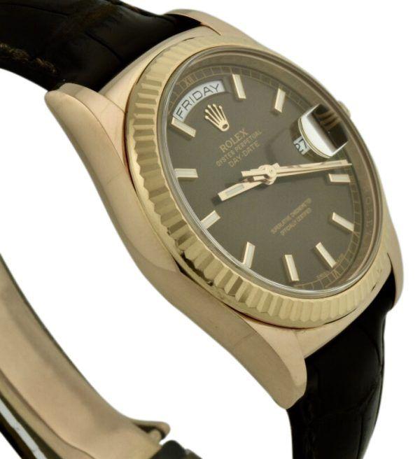 rolex 118135 brown dial