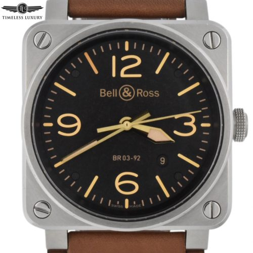 Bell & ross golden heritage br03-92-s