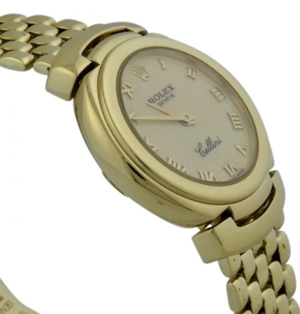 rolex cellini 6621 18k gold