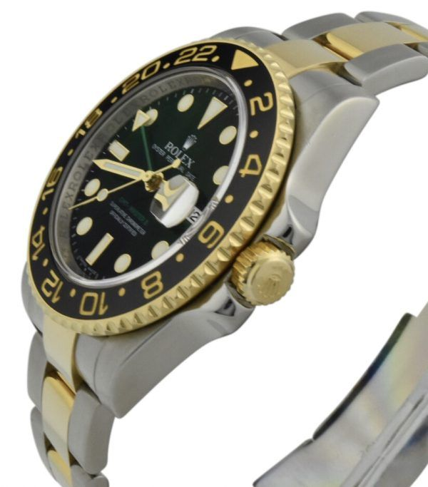 rolex gmt master steel and gold