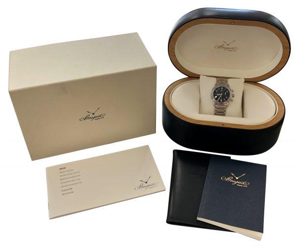 Breguet type xx 3820 stainless steel watch