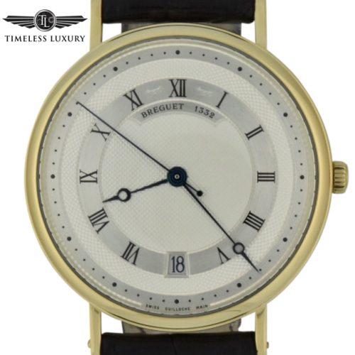 Breguet classique 5930 18k yellow gold watch