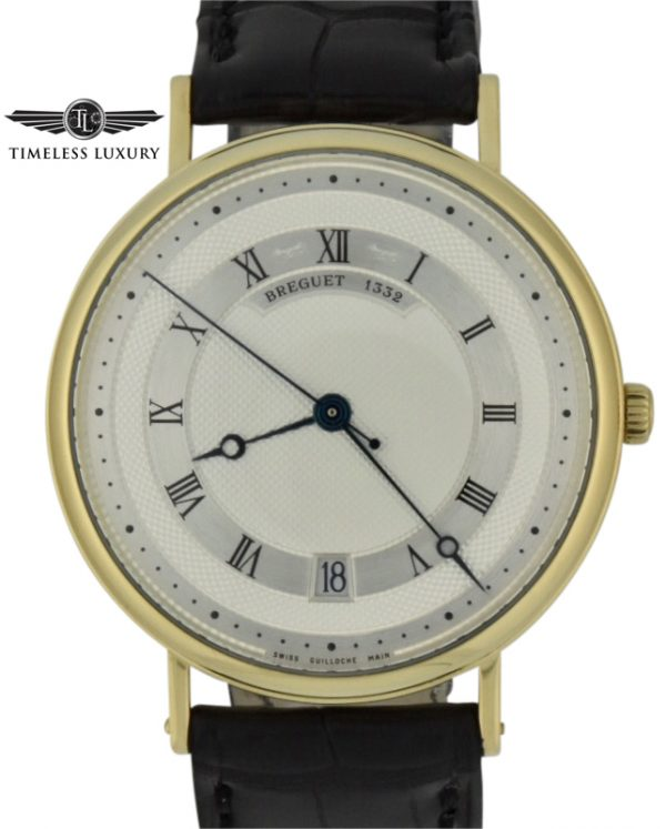 Breguet classique 5930 18k yellow gold watch