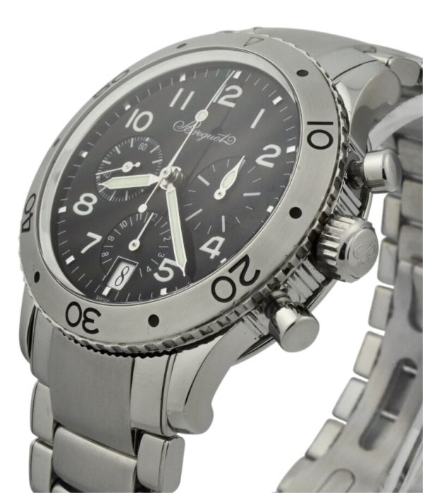 Breguet type xx 3820 stainless steel